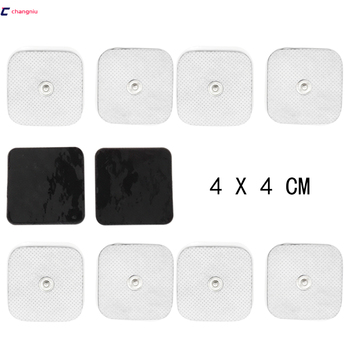 Free Shipping High Quality 2000pcs(1000 Pairs) 4cm*4cm Conductive Electrode pads TENS/EMS Electrodes use with TENS/EMS machine фото