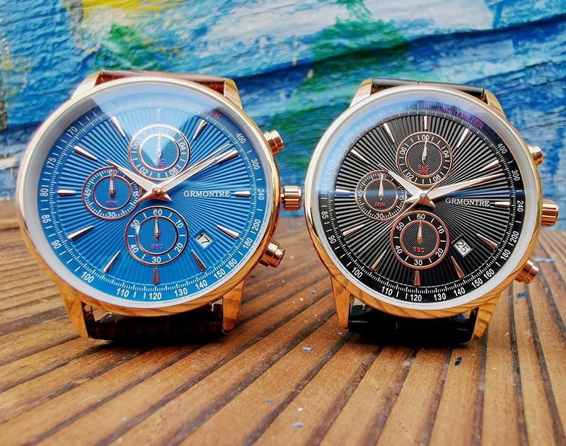 H48db44405fbe4918b76dbbbcb7f5c574Z Watch Chronograph Army Military Quartz Watches GRMONTRE