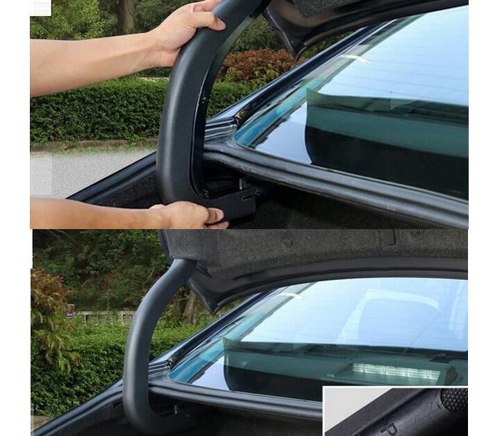 Пластиковый задний багажник откидной защитный чехол отделка 2 шт./компл. для Nissan Teana/Altima 2013 2014