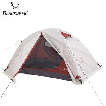 Blackdeer Archeos 2P תרמילאים אוהל חיצוני קמפינג 4 עונה אוהל עם שלג חצאית שכבה כפולה עמיד למים טיולים טרקים אוהל