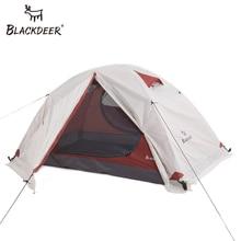 Blackdeer tente de randonnée en plein air 4 saisons, Double couche, étanche, avec jupe de neige 2P