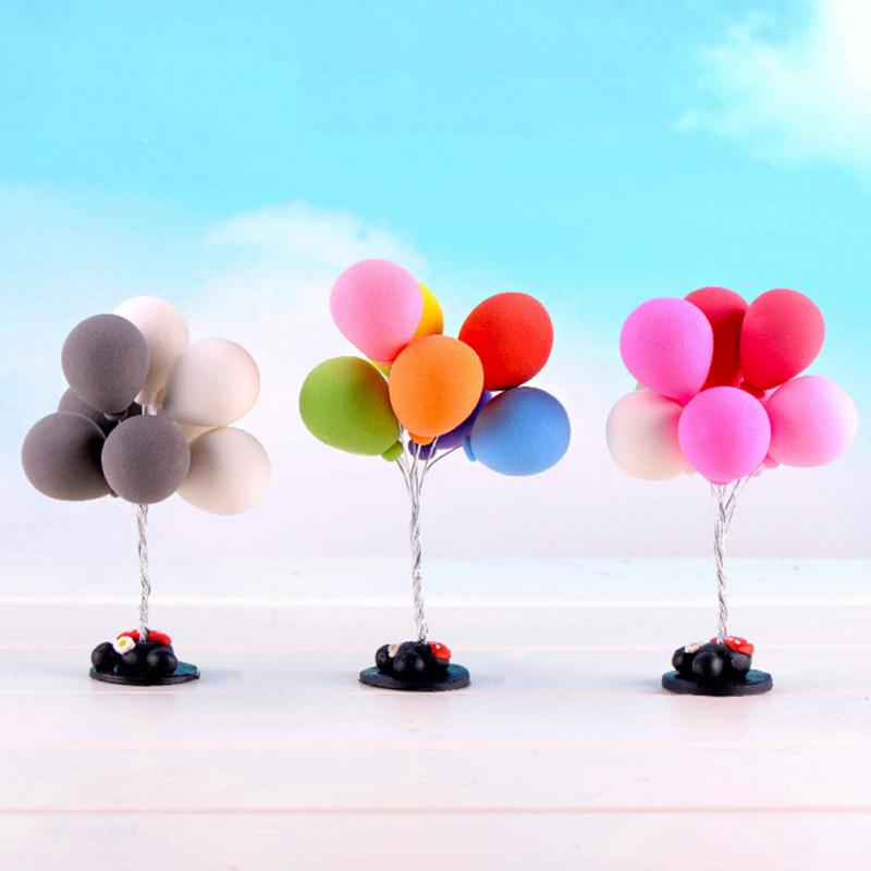 1 pcs Balloon decoration landscape mini balloon shooting props home garden DIY decoration material jewelry Figurines