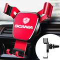 Lnterior decoration for Tamiya Scania R620 Car Phone Holder Universal Vent Hole Smart Phone Car Support Clip Mounting Bracket