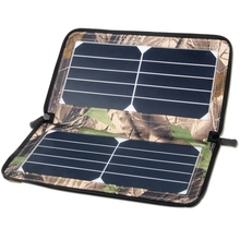 10W Solar Panel Usb Output Waterproof Portable Foldable Charging Board For Travel Camping Outdoor Activities