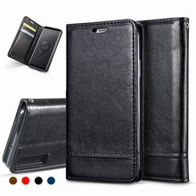 Flip Cover for Samsung Galaxy A7 2018 Case Leather Magnetic A750 Wallet Phone Protector case
