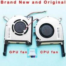 Computador, novo e original laptop/processador notebook cpu/gpu ventilador de refrigeração para asus strix tuf 6 fx505 fx505g fx505ge fx505gd