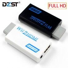 Convertidor Wii2HDMI para Wii a HDMI, con salida de Audio y vídeo de 3,5mm, adaptador Upscaler automático, soporte NTSC 480i PAL 576i 1080P