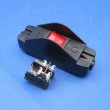 1 قطعة JR 617 مثبطات اللهب ارتفاع درجة الحرارة عالية الحالية عالية الطاقة أداة معدات طبية على الانترنت التبديل مفتاح الكابلات 30A