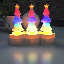 New design Fairy Lights LED Christmas Tree Salt Lamp Night Light Decoration Kids Party Lights for Christmas tree salt lamp salt water power christmas lamp string lights innovation upgrading led lanterns party lighting home decoration light qf 167a10