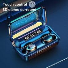 Bluetooth v50 наушники беспроводные с микрофоном спортивная