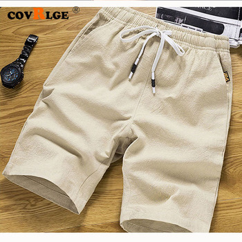 Casual Pants Cotton Short Pants Summer Men shorts Casual Loose Cropped Trousers Sports Shorts Loose Knit Straight 5XL MKD048 brand men s fashion sports pants summer new stitching loose straight sports pants lightweight comfortable hip hop casual shorts