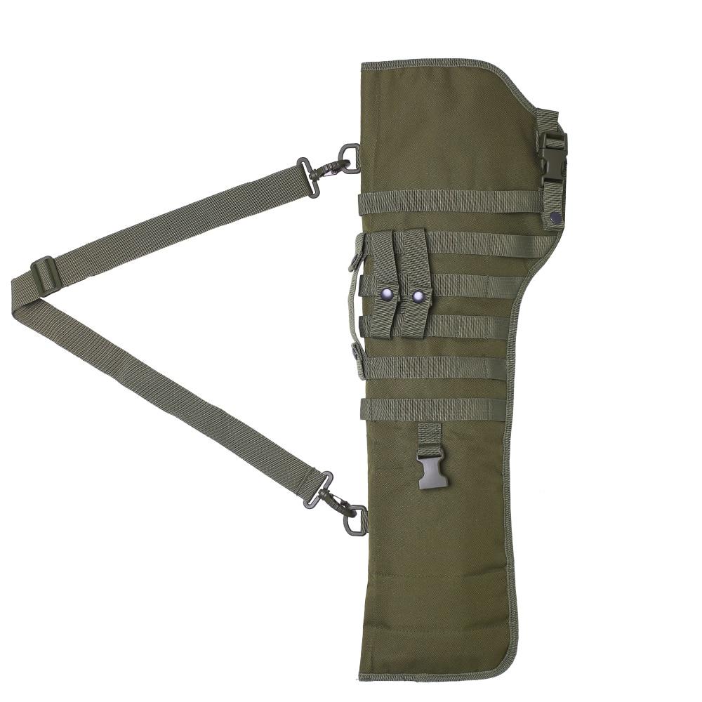 Case de Proteção Rifle Tático Shotgun Bainha Molle Ombro Sling Coldre Arma Bolsas