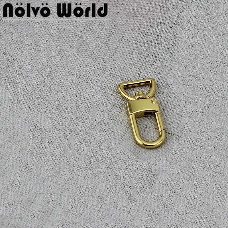 10-50 Pieces 14mm 4 Colors Handbag Steel Bolt Snap Hook Oval Swivel Trigger Snap Hooks For Bag Hardware Accessories