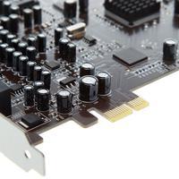 0105 чип 5,1 объемное аудио внутренняя PCI Встроенная звуковая карта небольшой Слот Встроенная звуковая карта чистый звук PCIE0105