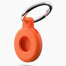 Original capa protetora para airtag aircover caso protetor de silicone pára-choques caso compatível com apple airtags rastreador fivela
