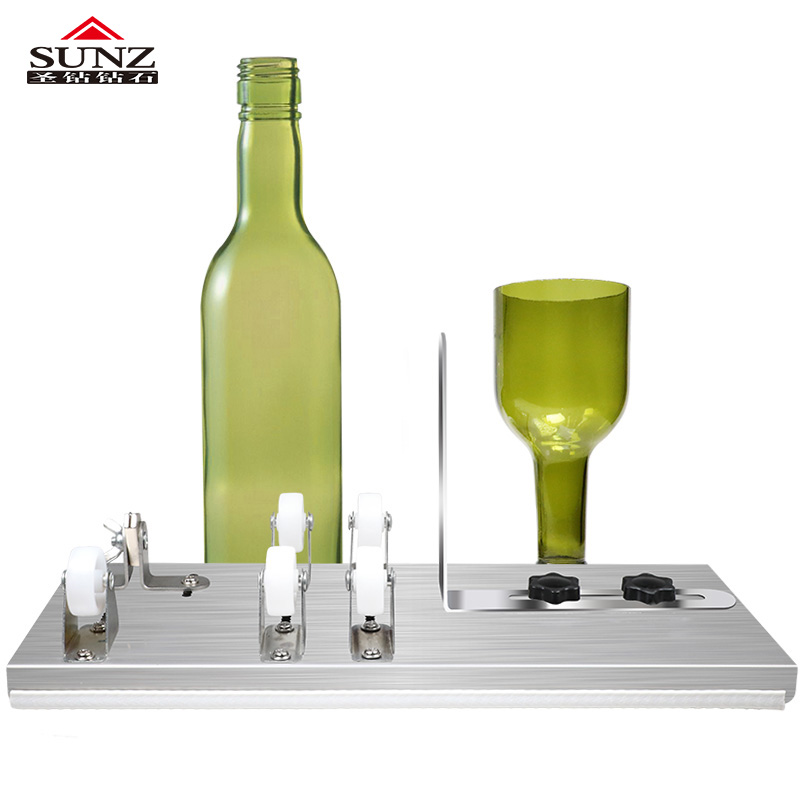 Glass Bottle Cut  3 Wheel Cutter  5 Wheel Cutter Wine Bottle Bottle Cutting DIY