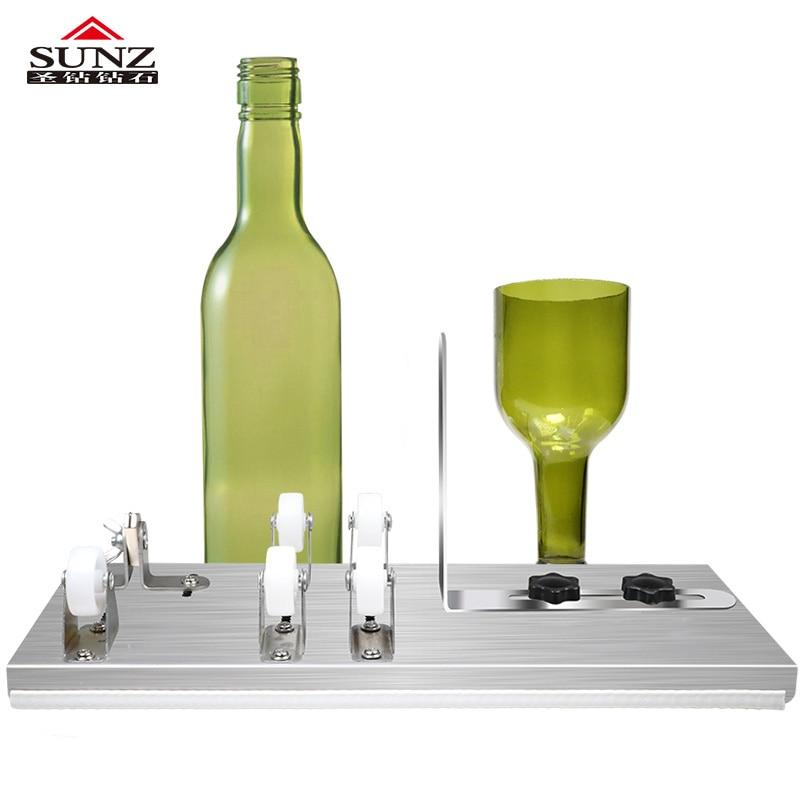 glass Bottle cut  3 wheel cutter  5 wheel cutter Wine bottle Bottle cutting DIY|Glass Cutter| |  - title=