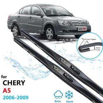 Car Wiper Blade for Chery A5 Fora Alia Elara MVM 520 530 Vortex Estina Front Window Windscreen Windshield Wipers Car Accessories image