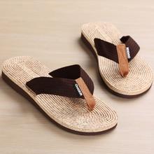 Summer Men Flip-Flops Beach Clip Toe Drag Shoes Fashion Casual Non-slip Slippers Outside Flip Flops Men Sandals