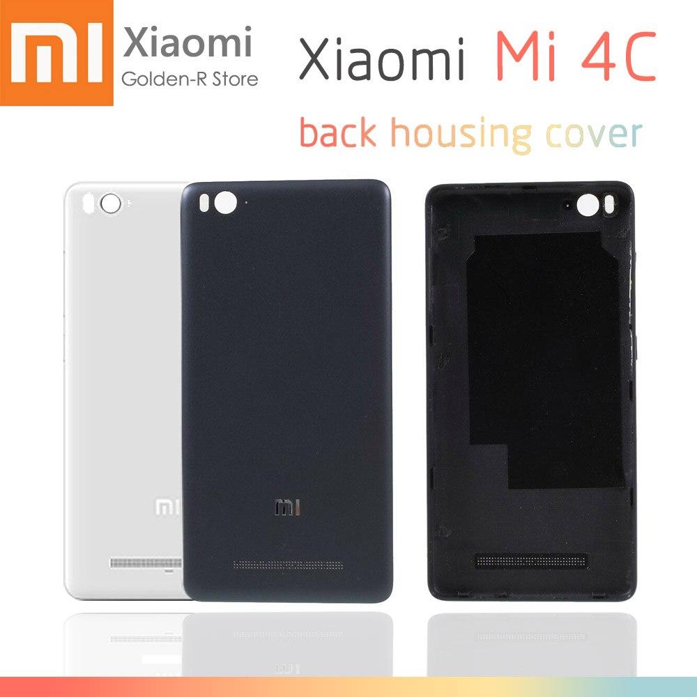 For Xiaomi Mi 4i Battery Back Cover Door Housing Case For Xiaomi MI 4C Mi4c Replacement For Xiaomi Mi 4C Replace Parts