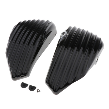 Motorcycle Left Right Side Battery Protector For  Sportster 883 1200