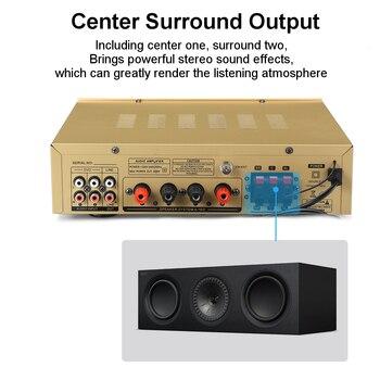 Цифровой усилитель для караоке SUNBUCK AV-580, 4.1, Bluetooth 5