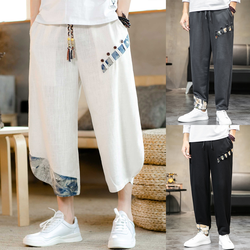 China Men Casual Shorts Plus Size Fashion Baggy Shorts Long Cargo With Pockets Hip Hop Streetwear Roupas Mens Clothing XX60MS