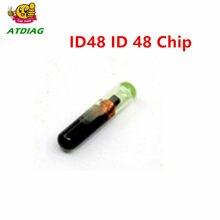1 peça chave transponder chip id 48 id48 chip id: 48 chip de vidro do carro oem 48 megamos frete grátis