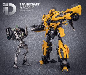 Image 5 - Dönüşüm MasterPiece TransCraft TC01 MXG 01 MXG01 Mahican Mohawk TLK Junkion deformasyon araba Robot aksiyon şekilli kalıp oyuncak