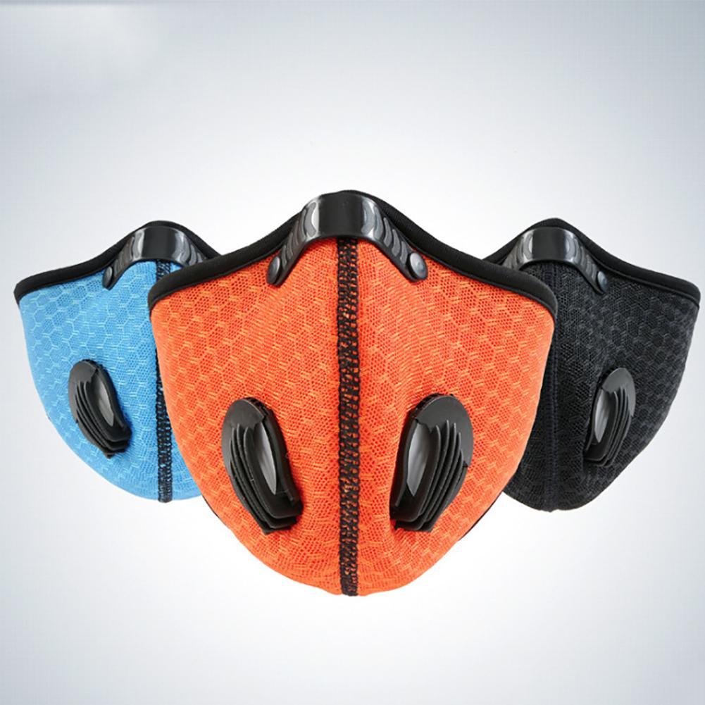 Protective Breathable Anti Dust Fog Windproof Outdoor Sports Cycling Face Mask Unique Ventilation Design Comfortable Masks