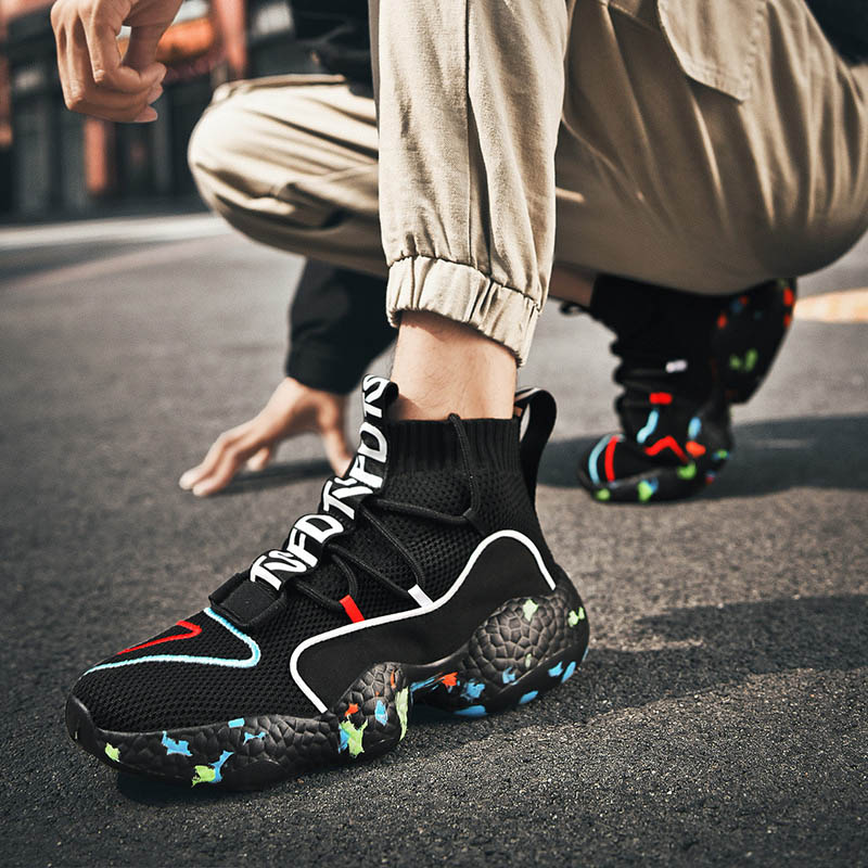 Men Sock Shoes Comfortable Fashion