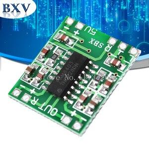 5PCS PAM8403 Super mini digital power amplifier board miniature class D power amplifier board 2 * 3 w high 2.5 ~ 5 v USB
