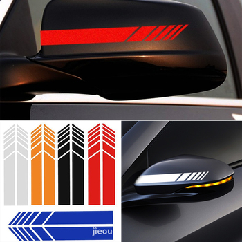 Funny Car Sticker 2 pc Reflective Rearview Mirrors Decoration for BMW 1 2 3 4 5 6 7 Series X1 X3 X4 X5 X6 E60 E90 F07 F09 F10 image