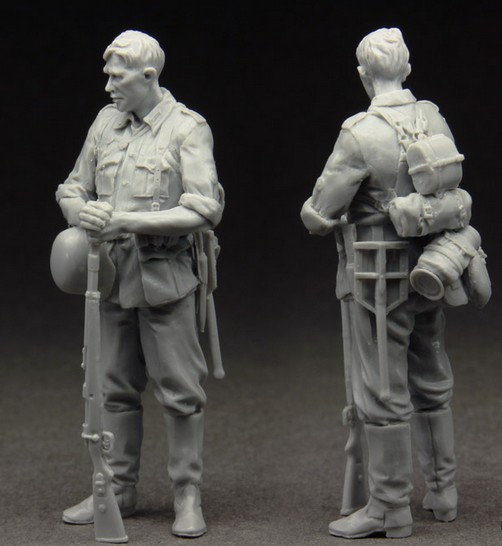 1:35  Spring Camouflage Infantry