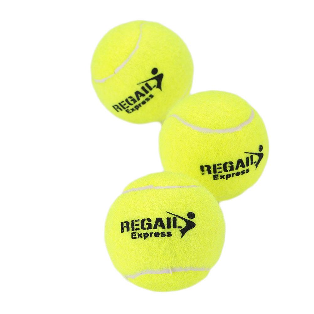 Training Tennis Ball Sports Exercise Adults Training Learning Vanilla Green