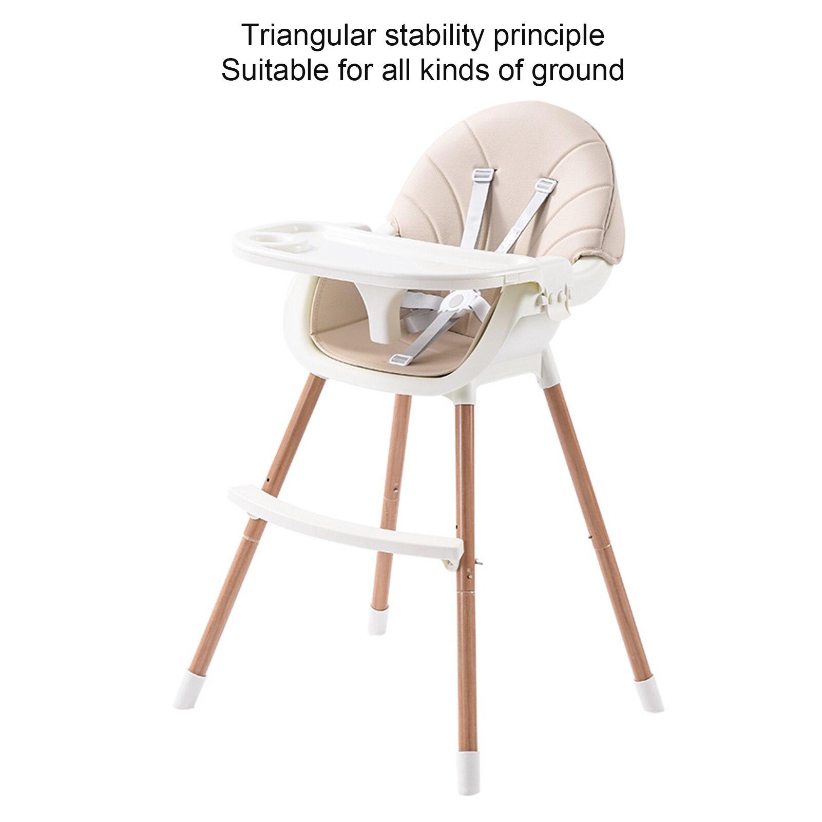 Детский высокий стул, подлинный портативный стул для кормления, детский высокий стул, Многофункциональный Детский обеденный стул 5