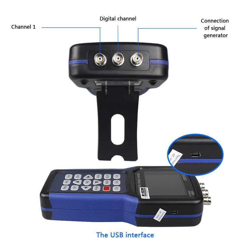 Handheld Oscilloscoop 1 Kanalen 20 Mhz Oscilloscoop 200MSa/S Digitale Oscilloscoop Kit Met Behuizing Case Box Jinhan JDS2023
