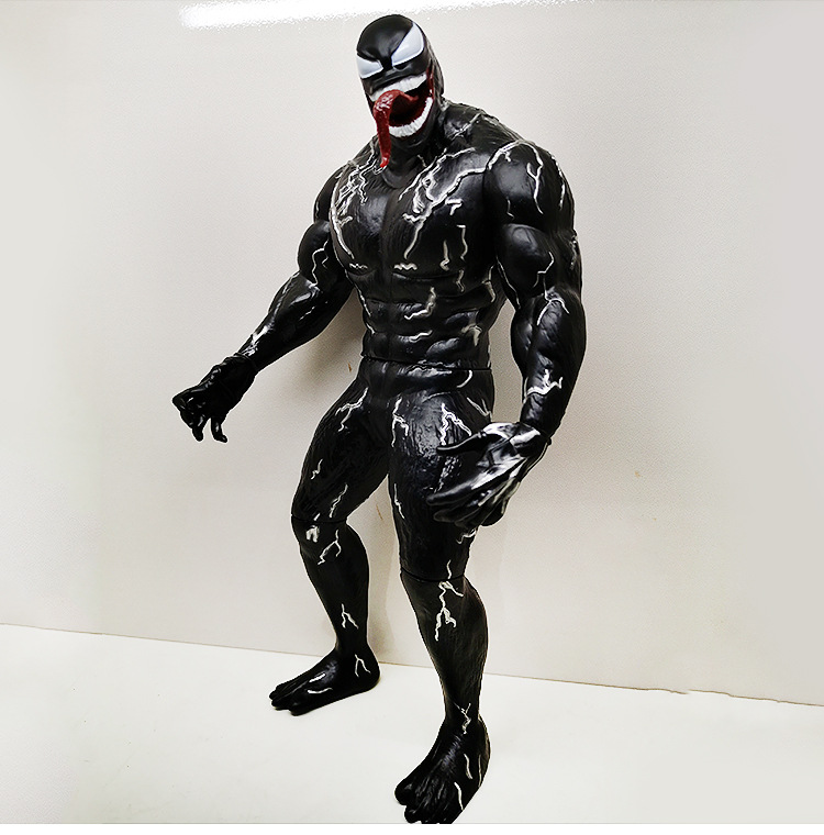 Venom Spiderman Action figure toys doll Christmas gift with box image