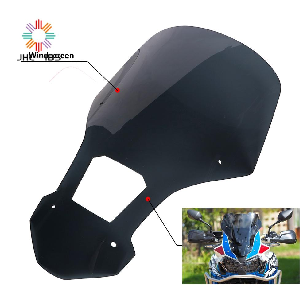 Motorcycle Plastic Windshield Spoiler WindScreen Wind For Honda CRF1000L CRF 1000L 1000 L 2016 2017 2018 2019 High Quality