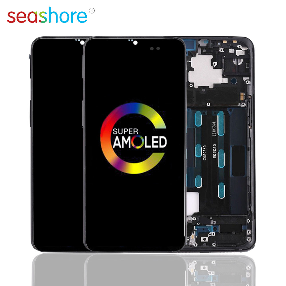 100% ORIGINAL For OnePlus 6T LCD Touch Screen Digitizer Assembly For Oneplus 6T Display with Frame Replacement 1+6T A6010 A6013