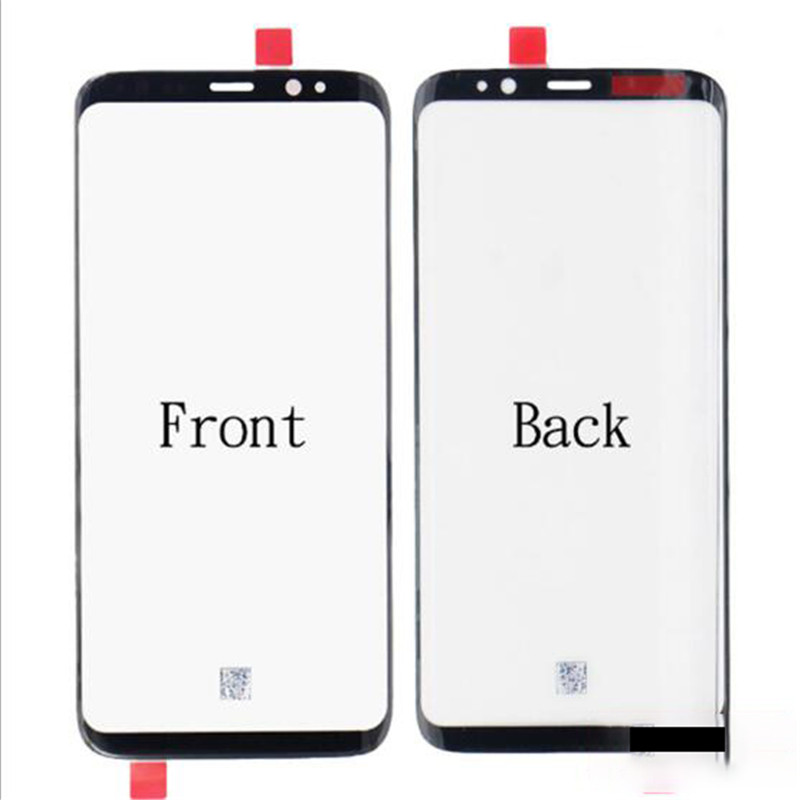 New For Samsung Galaxy S8 S8 Plus Note 8 Front Outer Glass Lens Touch Panel Cover Replacement Repair
