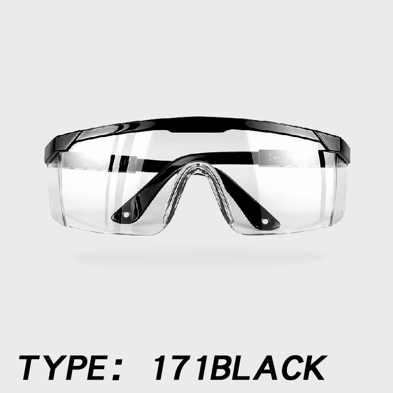 Image 4 - Clear Anti dust Safety Glasses Eye Protective goggle Anti  Pollution Anti splash Spectacles for Factory Lab Working EyewearSafety  Goggles