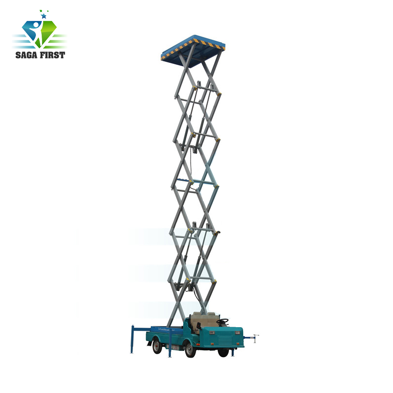 Truck Mounted Scissor Lift Machinery