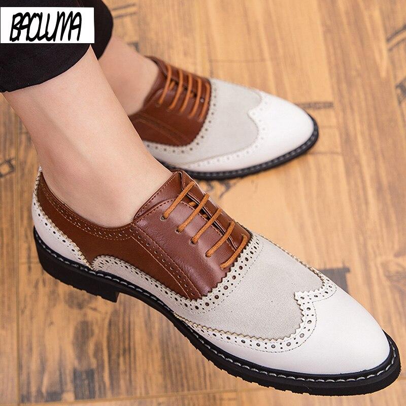 Classic Men Dress Shoes Four Seasons