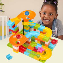 Compatible Legoing Toys Building Blocks Bricks Boys Girls Children Educational Slide Way Large Particles Assembled Gifts New O50