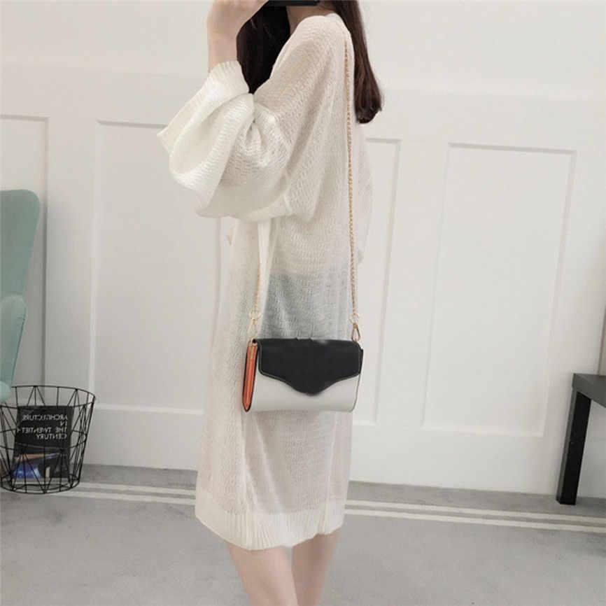 Свободное кимоно пальто Модные женские туфли кардиган с длинными рукавами тонкое пальто Однотонная одежда свободна блузка плюс Размеры Весна Для женщин куртки