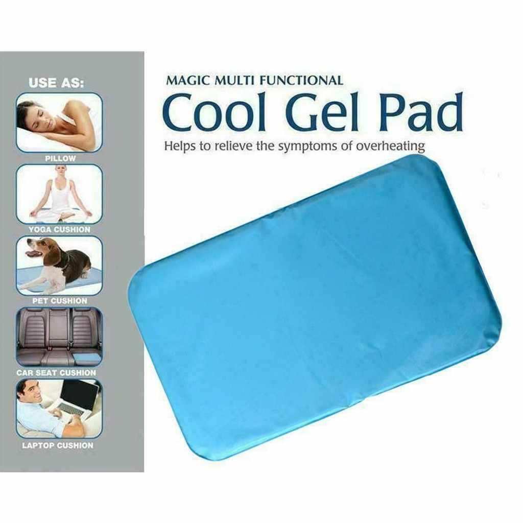 Coussin de couchage Piillow Mat Gel de refroidissement soulagement musculaire lit Stress été refroidi coussin de couchage refroidissement Piillow oreiller naturel