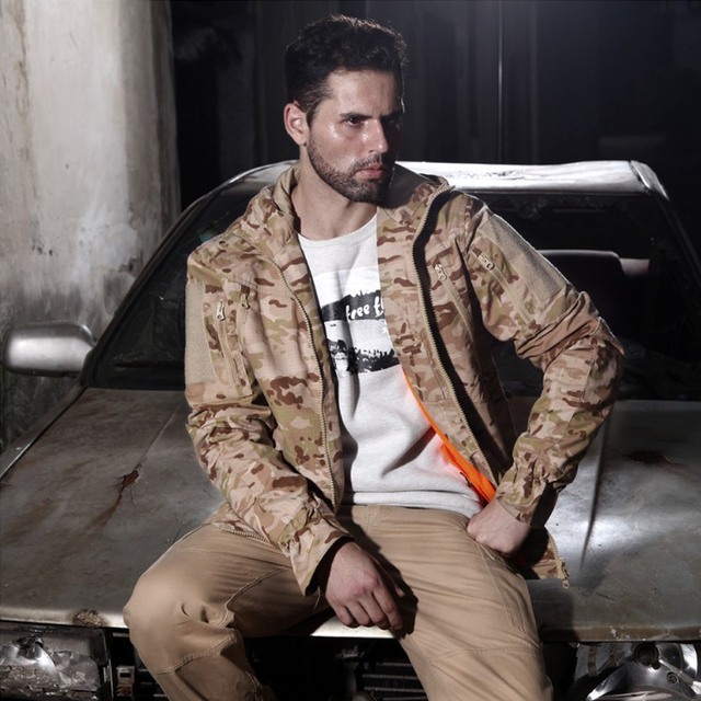 Pro. Camouflage Military Jacket  Equipment Tactical Multicam Jacket Men Combat Airsoft Shirts Hunting Clothes 2