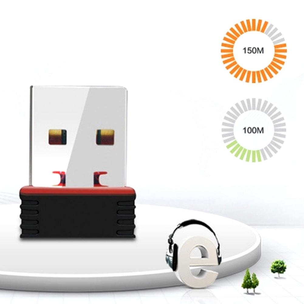 150Mbps USB Nano Mini Wireless Wifi Adapter Dongle Receiver Network LAN Card PC USB 2.0 Wireless Network Card