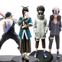 22Cm Anime Naruto Haku Actiefiguren Naruto Shippuden Momochi Zabuza Haku Aburame Shino Inuzuka Kiba Pvc Figuren Speelgoed Pop
